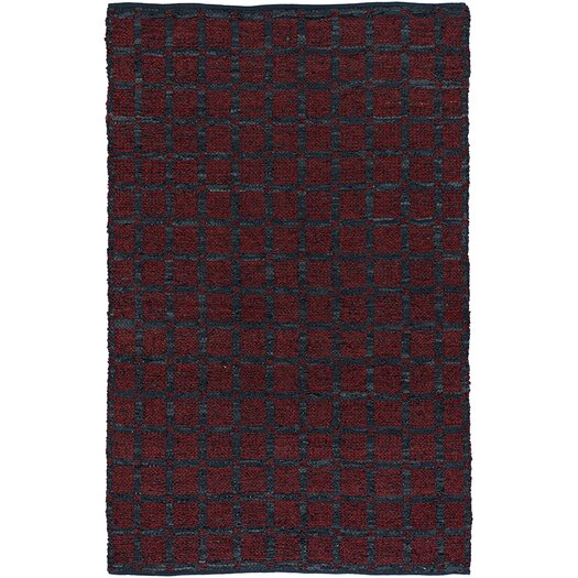 Chandra Rugs Art Red/Black Area Rug
