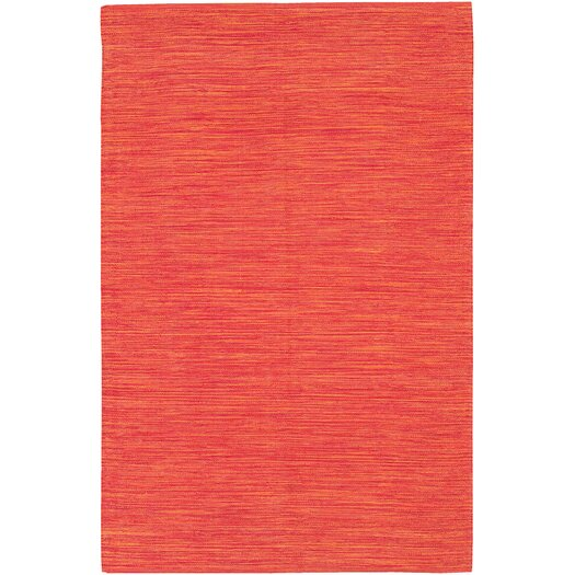 Chandra Rugs India Orange Area Rug