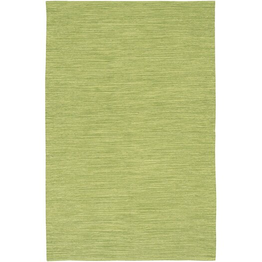Chandra Rugs India Green Area Rug