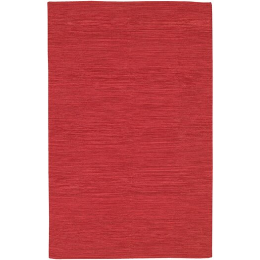 Chandra Rugs India Red Area Rug