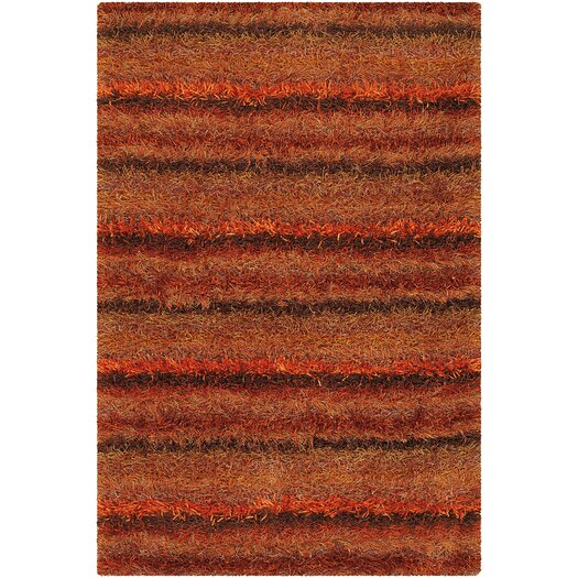 Chandra Rugs Kubu Red Area Rug
