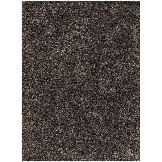 Chandra Rugs Tulip Black Area Rug