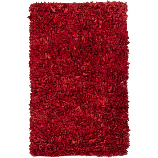 Chandra Rugs Art Red Area Rug
