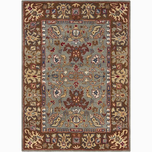 Chandra Rugs Bajrang Gray Area Rug