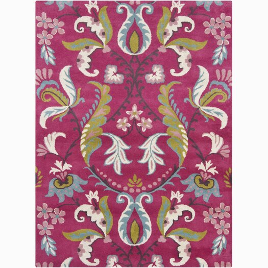 Chandra Rugs Bajrang Pink Area Rug