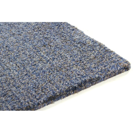 Chandra Rugs Crossloop Blue Rug
