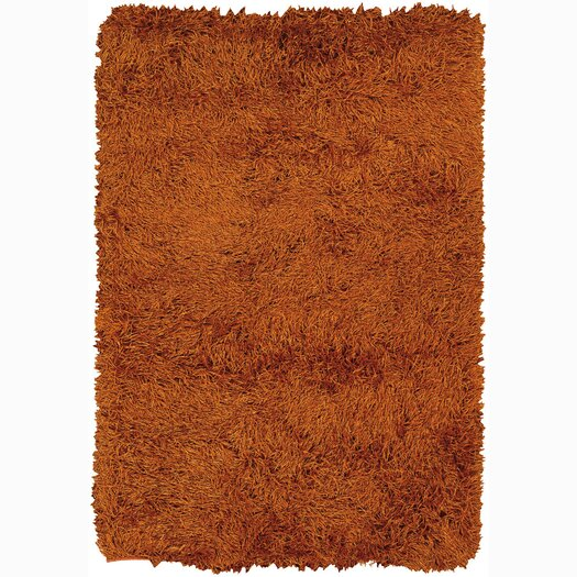 Chandra Rugs Duke Brown Solid Area Rug