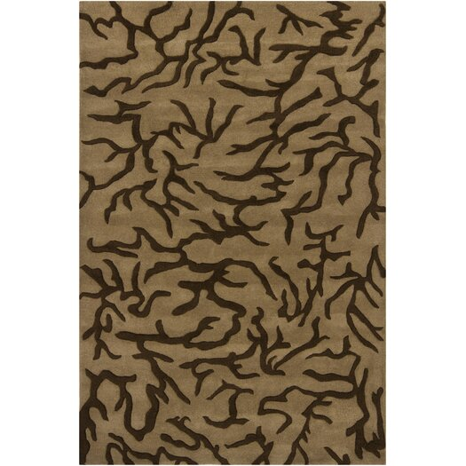 Chandra Rugs INT Brown/Mocha Area Rug
