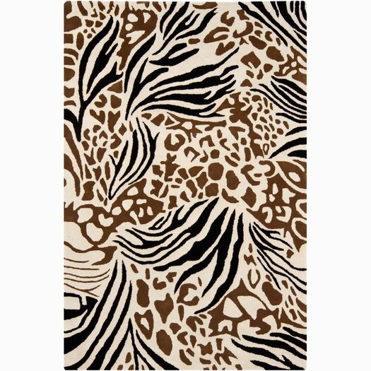 Chandra Rugs INT Floral Area Rug