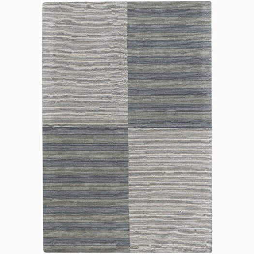 Chandra Rugs Jaipur Stripe and Checked Area Rug
