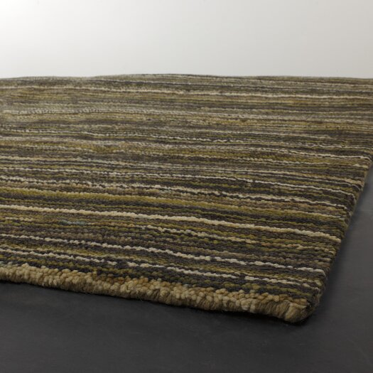 Chandra Rugs Juniper Green Stripe Outdoor Area Rug