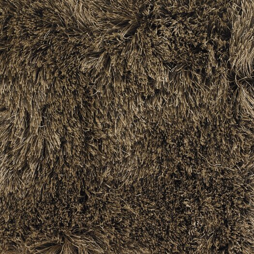 Chandra Rugs Vani Brown Solid Area Rug