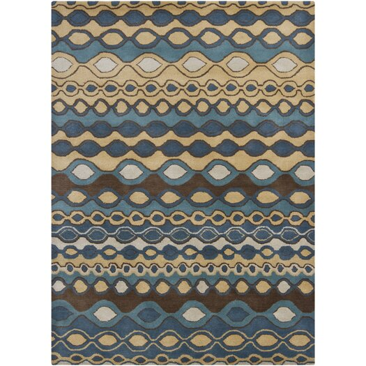 Chandra Rugs Gagan Blue Area Rug