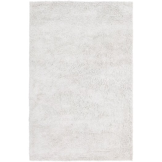Chandra Rugs Ombra Shag White Area Rug