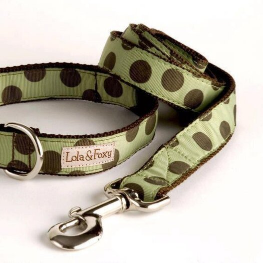 Lola and Foxy Mint Chocolate Chip Dog Lead