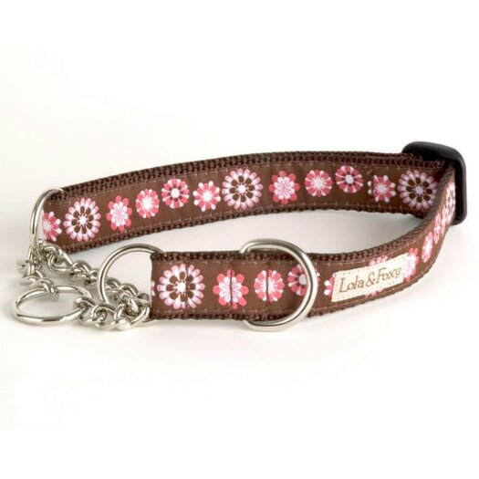 Lola and Foxy Lola Martingale Dog Collar