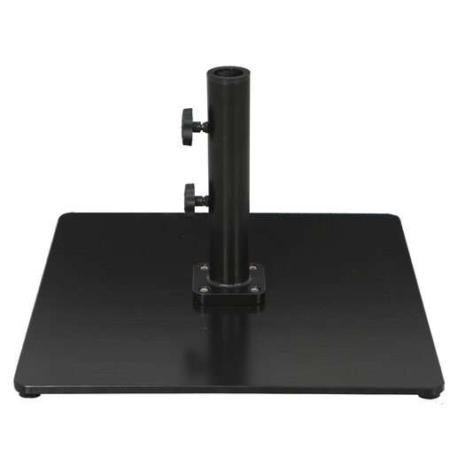 Galtech International Commercial Steel Plate Umbrella Base