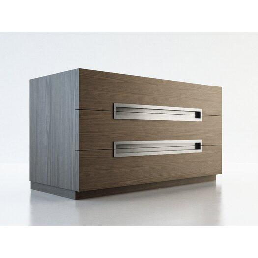 Modloft Monroe 3 Drawer Dresser