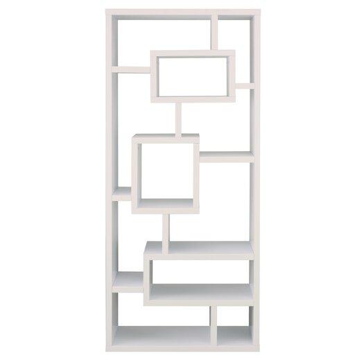"""Hokku Designs Bradshaw Unique 71"""" Bookcase"""