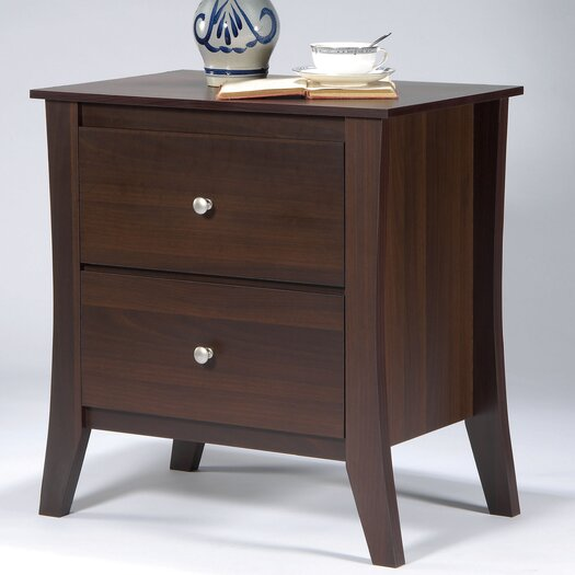Hokku Designs Kinsley 2 Drawer Nightstand