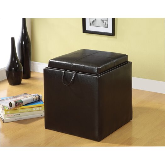 Hokku Designs Littleton Cube Storage Ottoman