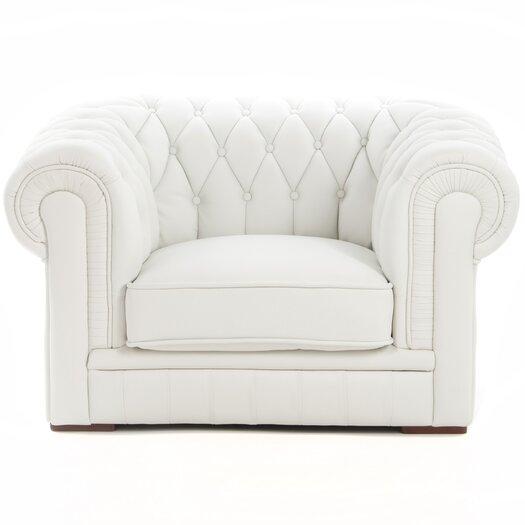 Hokku Designs Madeline Leather Chair