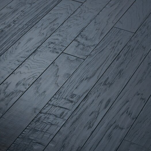 "Shaw Floors Epic Pebble Hill 3-1/4"" Engineered Hickory Flooring in Olde English"