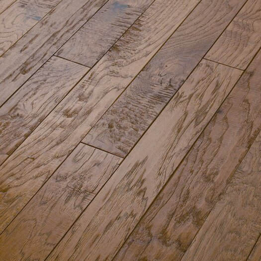 "Shaw Floors Epic Pebble Hill 3-1/4"" Engineered Hickory Flooring in Prairie Dust"