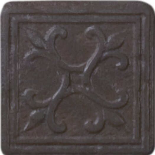 "Shaw Floors Heritage Sagebrush Insert 2"" x 2"" Tile Accent in Rust"