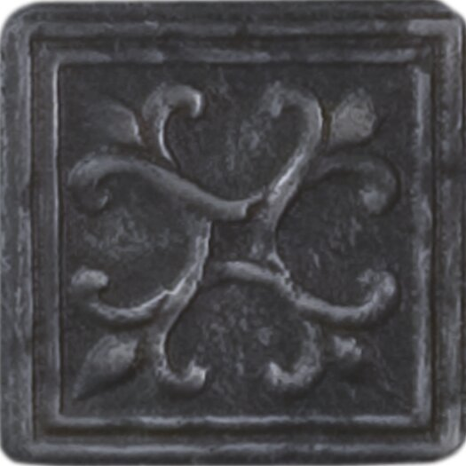 """Shaw Floors Heritage Sagebrush Insert 2"""" x 2"""" Tile Accent in Wrought"""