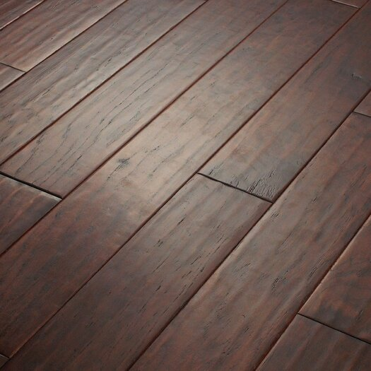 "Shaw Floors Kingwood 5"" Engineered Hickory Flooring in Estate"