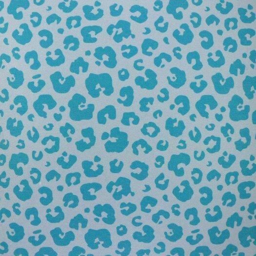 NECTARmodern See Spot Run Modern Leopard Animal Print Graphic Throw Pillow