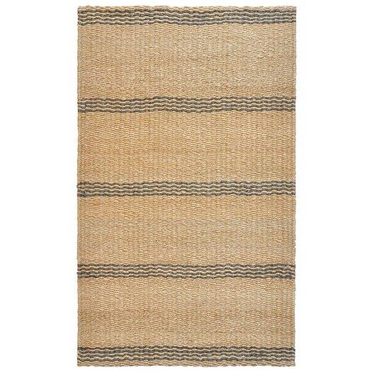 Kosas Home Aspro Grey/Natural Stripe Area Rug