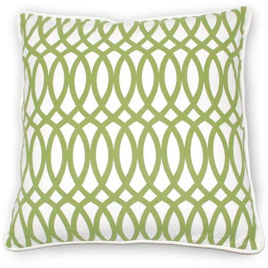 Kosas Home Fields Ellipse Cotton Pillow