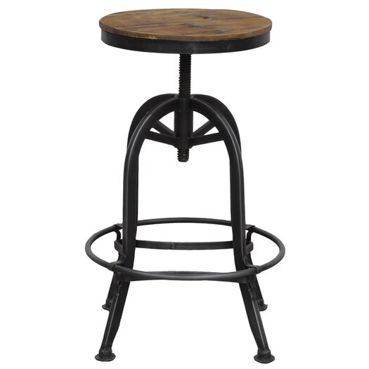 Kosas Home Akron Adjustable Height Bar Stool