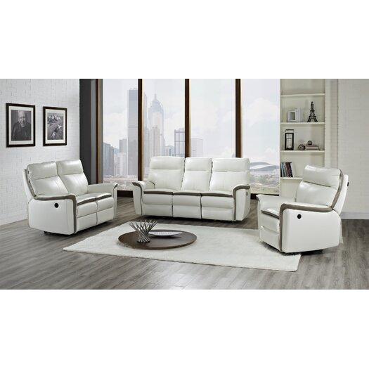 Creative Furniture Savannah Leather Reclining Loveseat