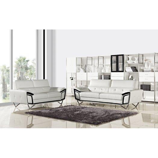 Creative Furniture Kaya Leather Loveseat
