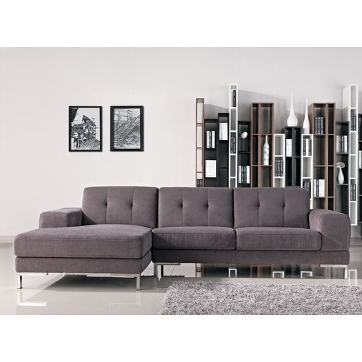 Creative Furniture Adele Left Facing Chaise Sectional Sofa