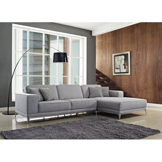 Creative Furniture Agata Right Facing Chaise Sectional Sofa