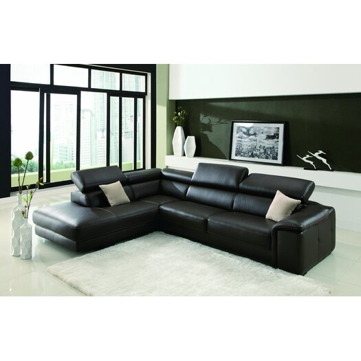 Creative Furniture Deon Left Facing Chaise Sectional Sofa