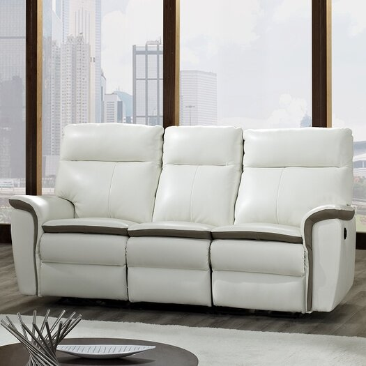 Creative Furniture Savannah Leather Reclining Sofa