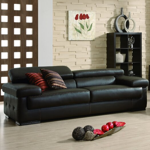 Savoy Leather Sofa