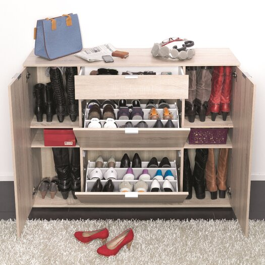 Colorida 18 Shoe Cabinet
