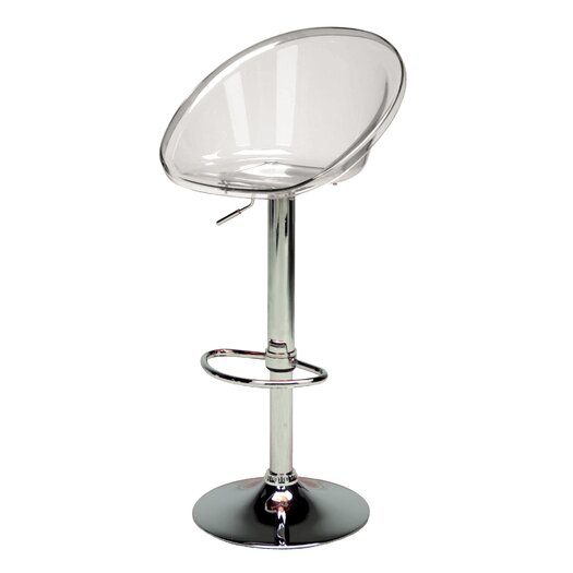 Sphere Adjustable Height Swivel Bar Stool