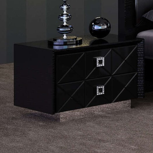 Zara 2 Drawer Nightstand