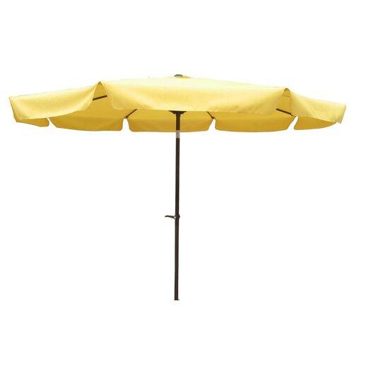 International Caravan St. Kitts 10-Foot Aluminum Patio Umbrella with Crank/Tilt