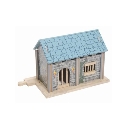 Le Toy Van Edix the Medieval Village Jail Building