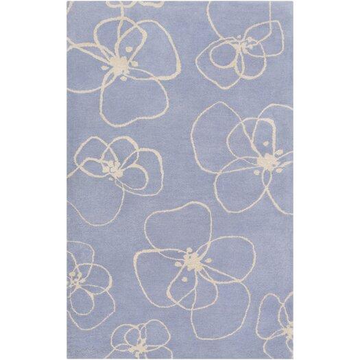Decorativa Iris Floral Rug