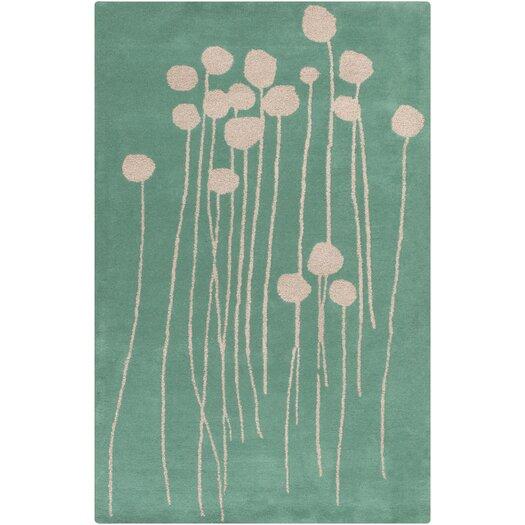 Decorativa Green Floral Rug