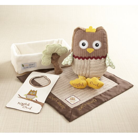 Baby Aspen ''My Little Night Owl'' 5-Piece Baby Gift Set
